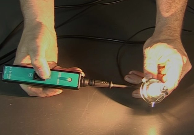Power Testing Lamp